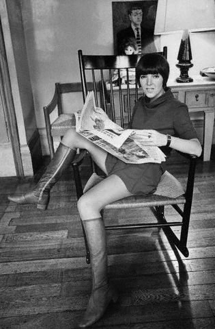 Mary Quant Swinging Sixties Miniskirts Pictures Years