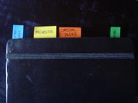 [Ivy's Moleskine] Organizzazione in GTD Style
