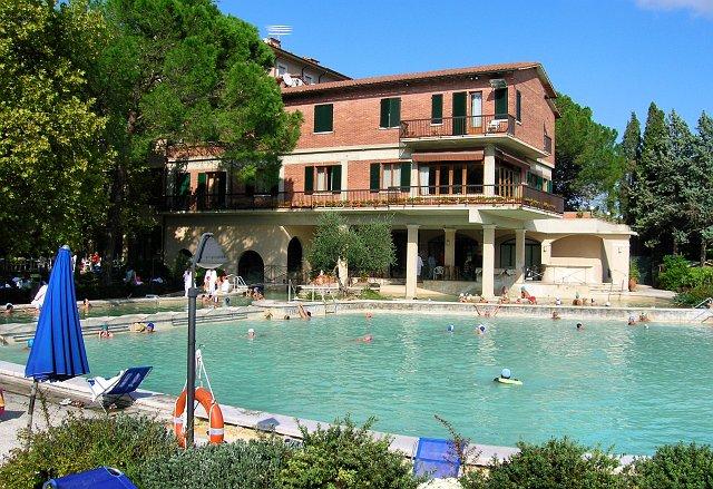 Terre Toscane di ET settembre 2008Foto 002  Bagno Vignoni  Hotel Posta Marcucci