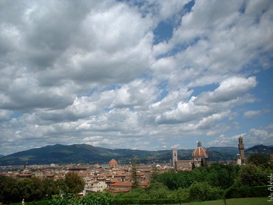 Firenze dal giardino dei Boboli