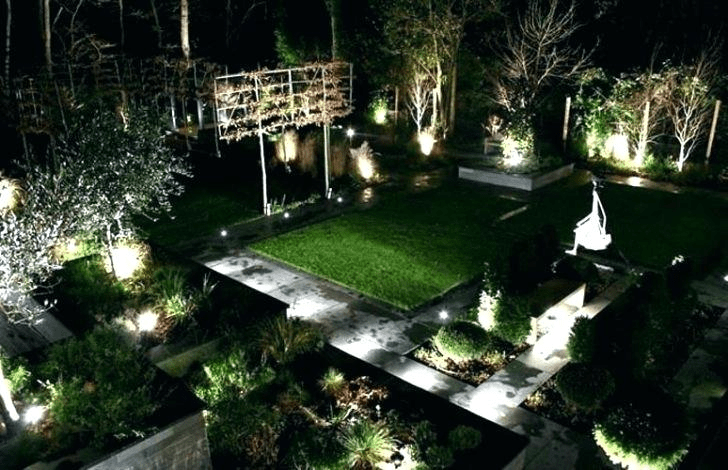 led outdoor commercial lighting ideas