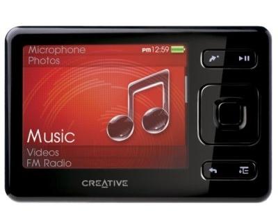 クリエイティブ、カードサイズの「CREATIVE ZEN」(4/8/16GB)発表
