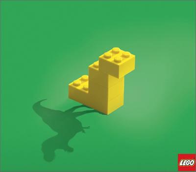 LEGO好きへの面白い広告