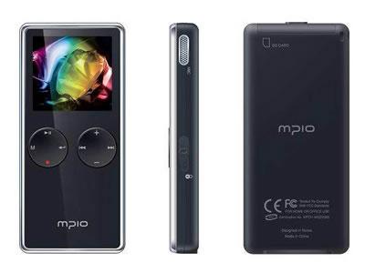 有機ELディスプレイのオーディオプレーヤー「mpio MG200」