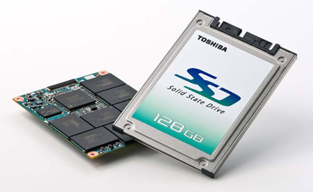 東芝、業界最大級128GBのSSDを製品化