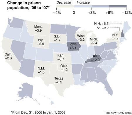 アメリカ人の100人に1人は刑務所にいる