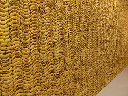 バナナの壁
