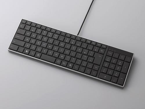 エレコム、11種類のファンクションキーを装備した薄型キーボードを発売