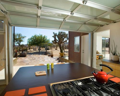 砂漠に住むためにピッタリな家