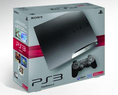 薄型PS3、250GB版が登場。11月3日に北米で発売開始! 価格は$349
