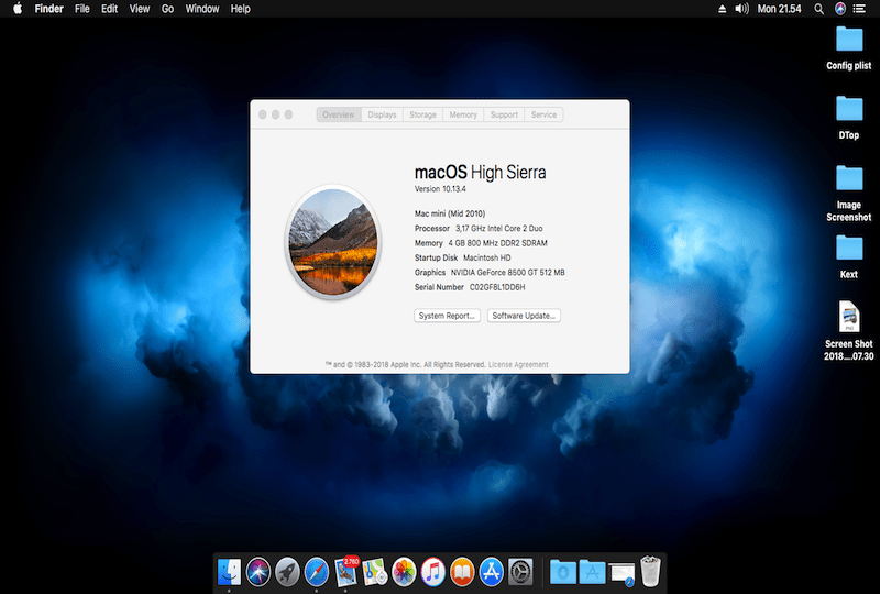 Update to macOS 10.13.4