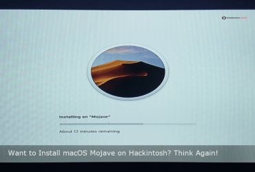 macOS Mojave on Hackintosh