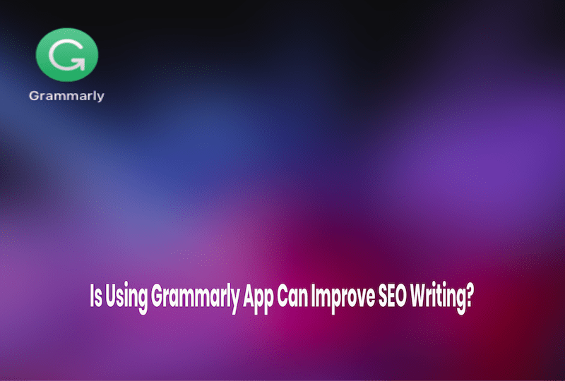 Grammarly for SEO