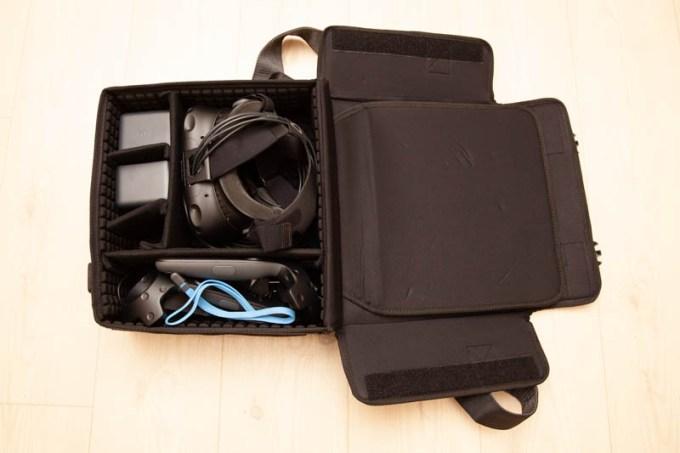 HTC VIVE VR機器用キャリングケース