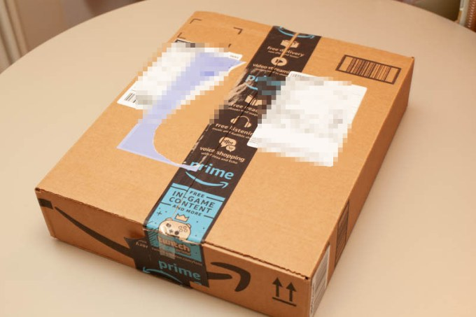 風呂敷型メッセンジャーラップAmazonの箱