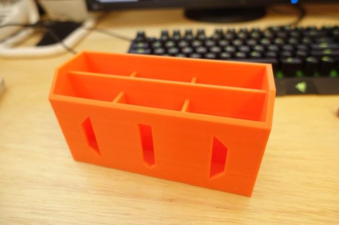 Shaper3Dでモデリングしたペン立て