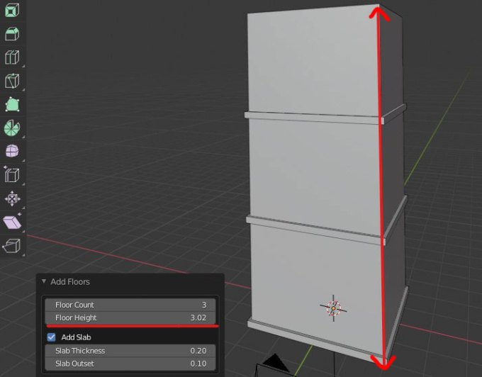 Blender Building Tools Addon 建築アドオン