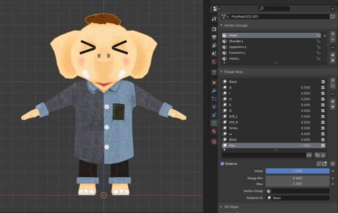 Unity VRChat Expressions オリジナル 表情 アバター AVATOR
