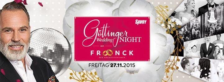 Party  Gttinger Wedding Night mit  Froonck Matthe