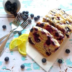 Meyer Lemon Blueberry Cake