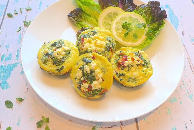 Greek Frittata Cups