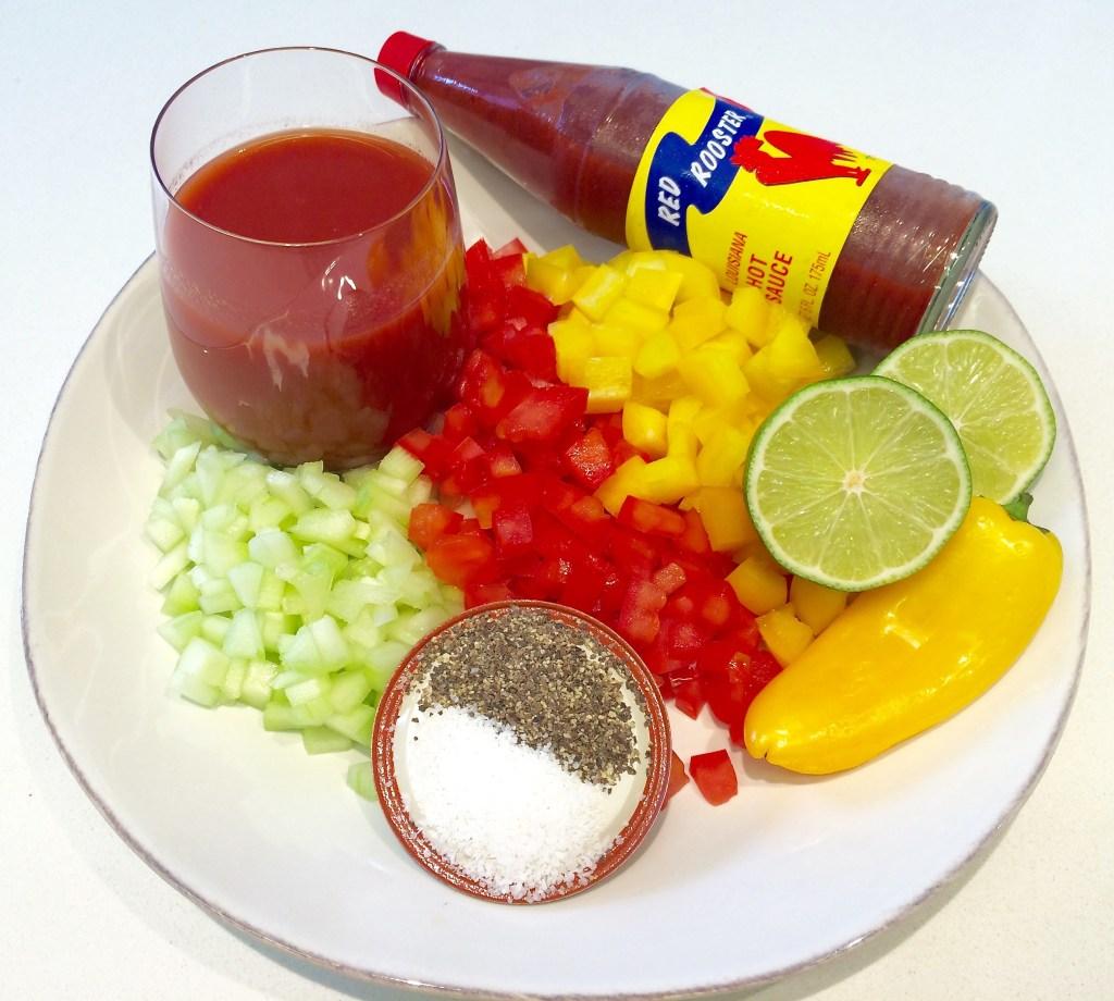 Gazpacho basics.