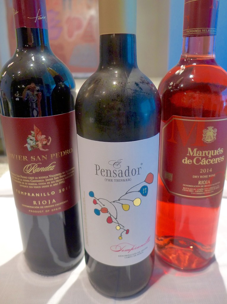 Chill your favorite fruity red like Tempranillo, Merlot, Zinfandel or Rosé wine.