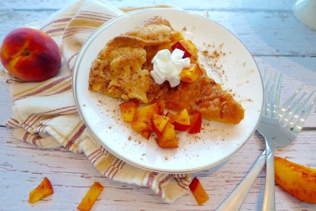 Fresh Peach Crostata