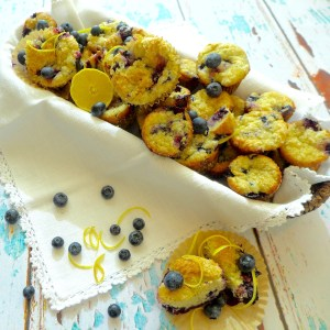 The Very Best Blueberry Muffins