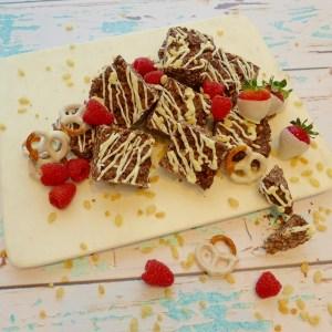 Chocolate Crunch Bars (Gluten Free)