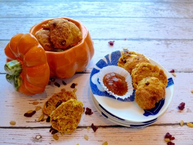 Pumpkin Spiced Mini Scones