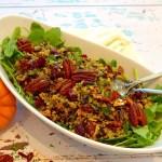 Cranberry Wild Rice Salad Recipe and ideas at diginwithdana,com
