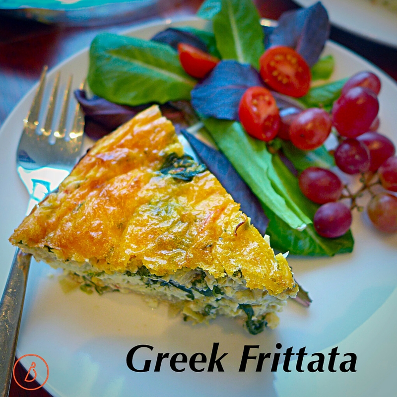 Greek Fritatta- Reader Favorite Recipe 2015