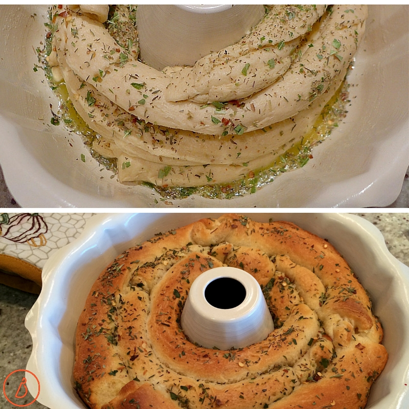 Before and After Italian Bread