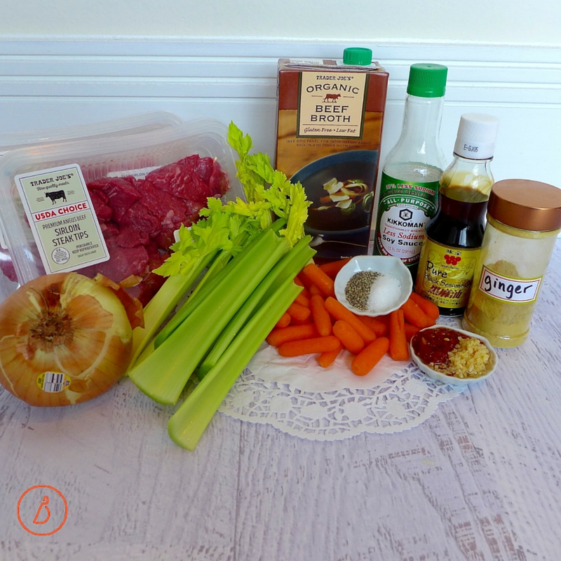 Everything you need to make East Meets West Beef Stew
