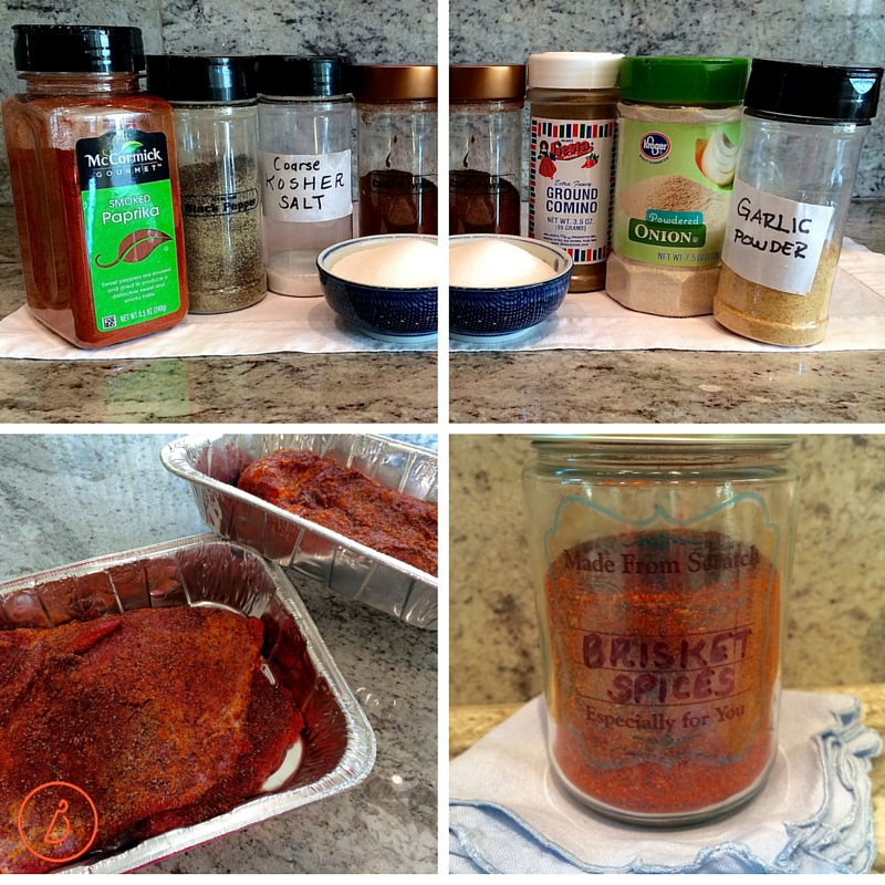 Make your own brisket spice mix!