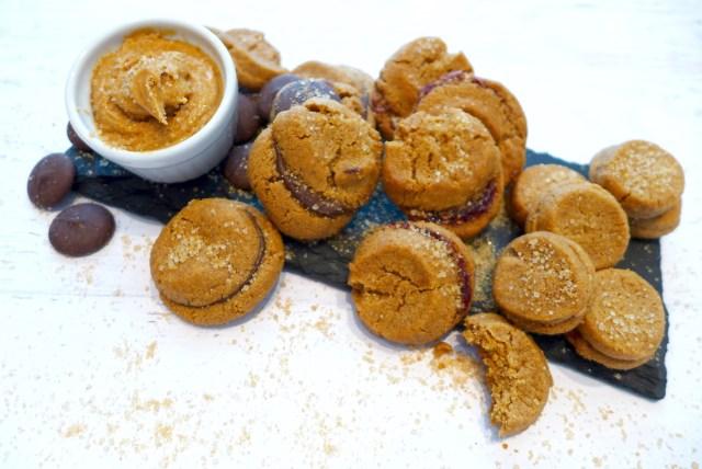 Nutty Butter Sandwich Cookies