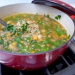 Quick Greek Lentil Soup recipe and variations at diginwithdana.com