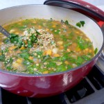Quick Greek Lentil Soup recipe and variations at diginwithdana.com