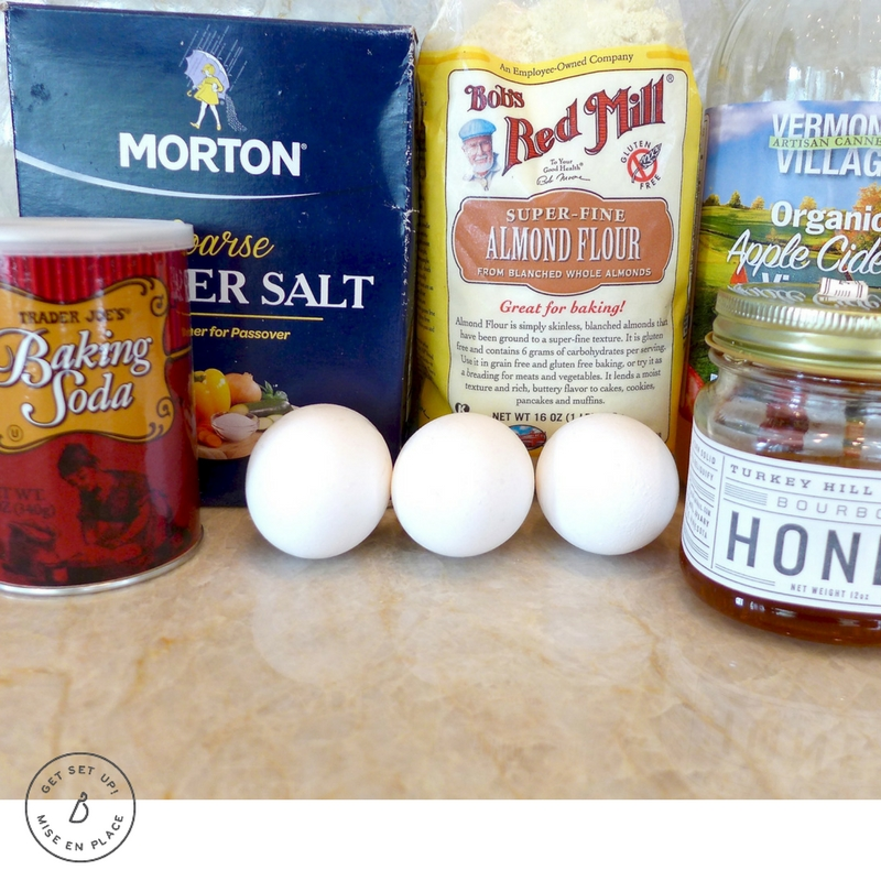 All the ingredients you need to make delicious, gluten free almond flour and honey sandwich bread. Find recipe and helpful tips at diginwithdana.com
