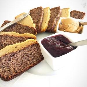 Almond flour and Honey Sandwich Bread recipe at diginwithdana.com