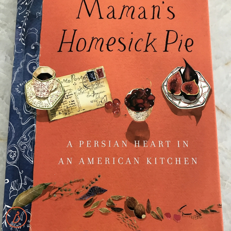 Donia's Cinnamon Date Bars come from this memoir with recipes by chef Donia Bijan. Full recipe and photos at diginwithdana.com