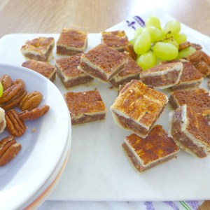 Donia's Cinnamon Date Bar Recipe and variations at diginwithdana.com