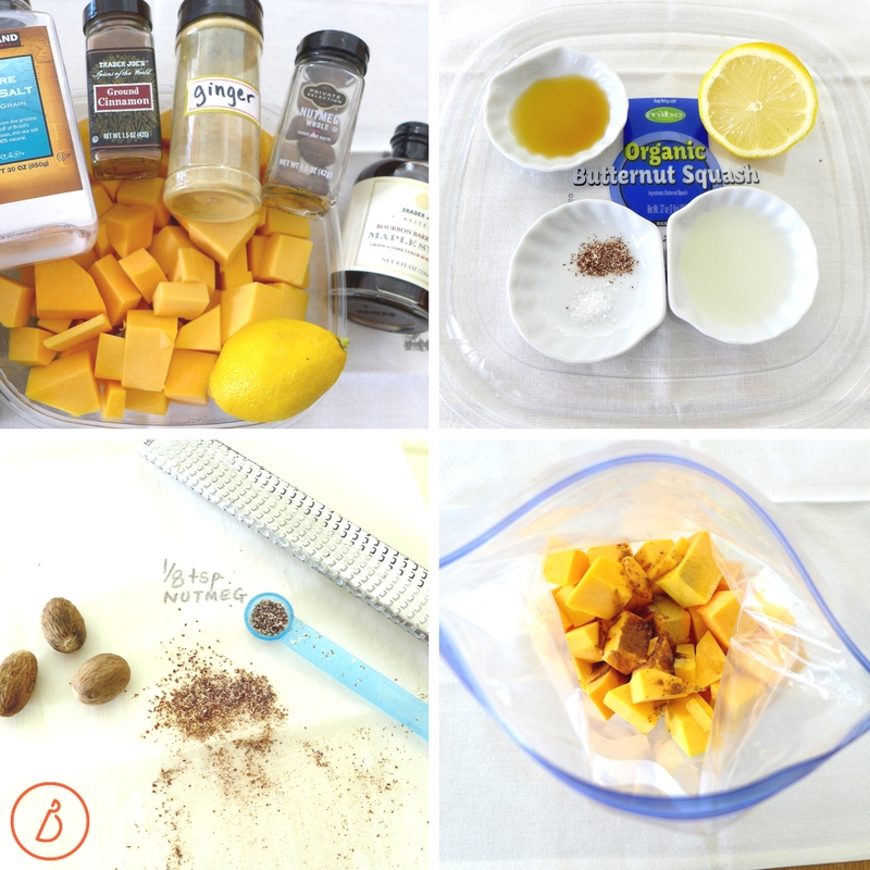 All you need to make cinnamon maple butternut squash. Recipes and tips at diginwithdana.com
