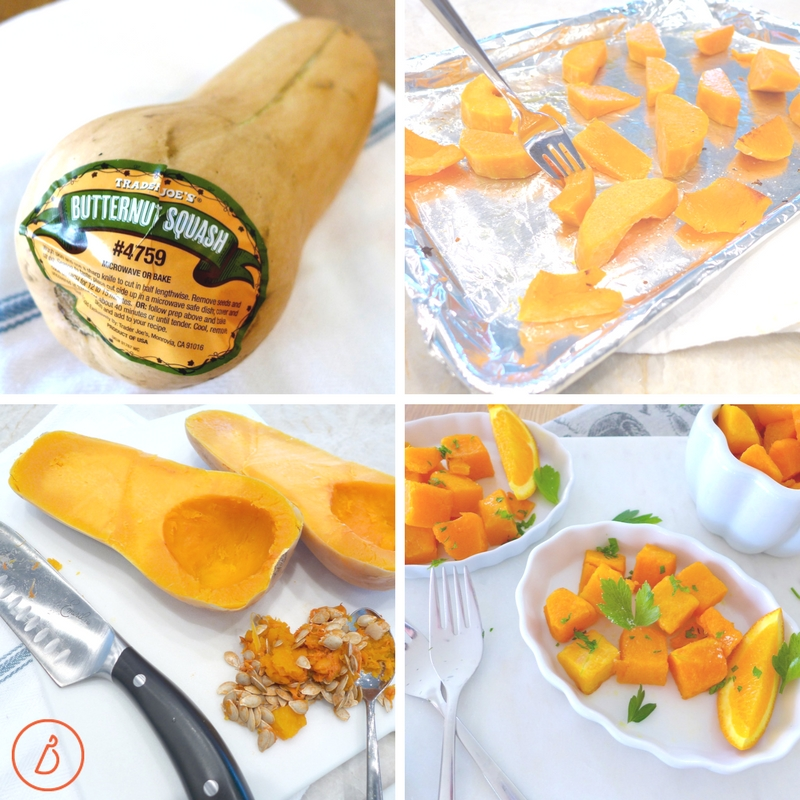Simply cut, roast and serve butternut squash or puree cooked squash to use in place of grains or pumpkin in your favorite baked goods. Recipes and ideas at diginwithdana.com