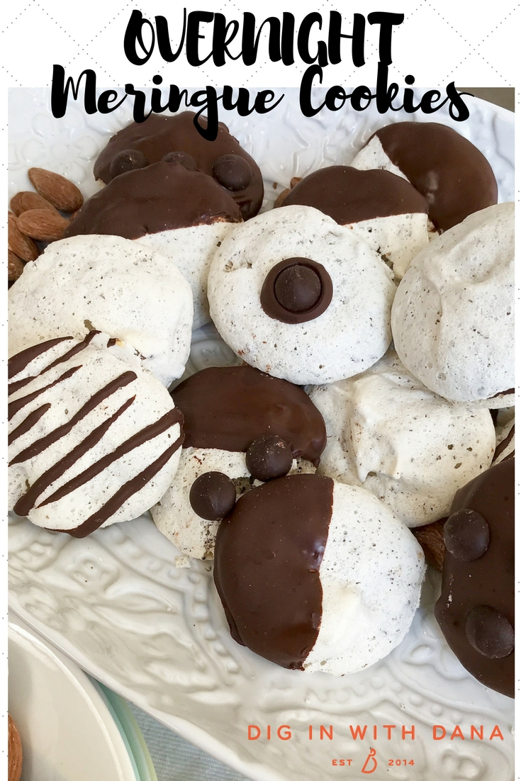 Overnight Merigue Cookies #easyrecipe #glutenfree #passoverfriendly #diginwithdana
