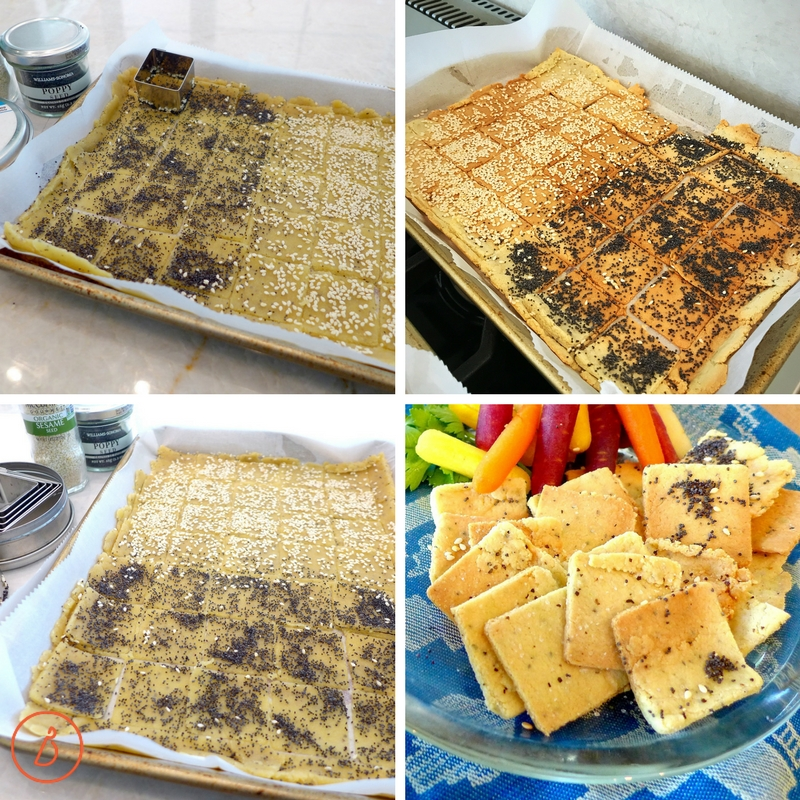 Enjoy your own almond flour crackers, gluten free and paleo. Recipe and helpful photos at diginwithdana.com
