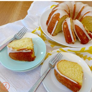 Lemon Buttermilk Pound Cake- the perfect casual dessert at diginwithdana.com