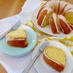 Lemon Buttermilk Pound Cake recipe and photos at diginwithdana.com