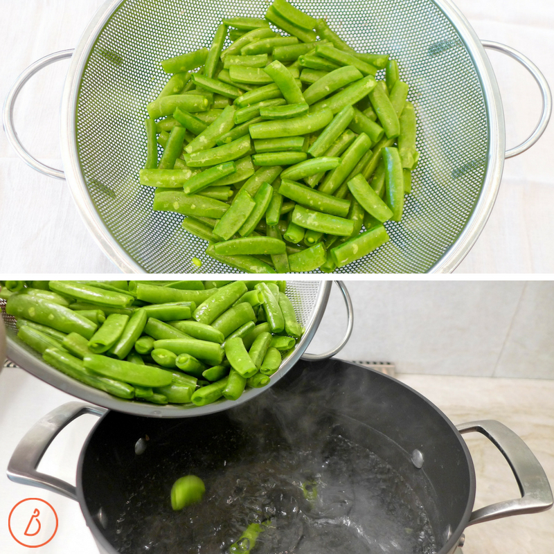 Add a pop of green to your vegetable platter with these sweet crunchy snap peas. Easy roasted summer vegetables recipe at diginwithdana.com